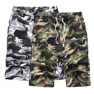 ec75ba3ccb Men Summer Casual Army Cargo Combat Camo Camouflage Overall Shorts Sports  Pants