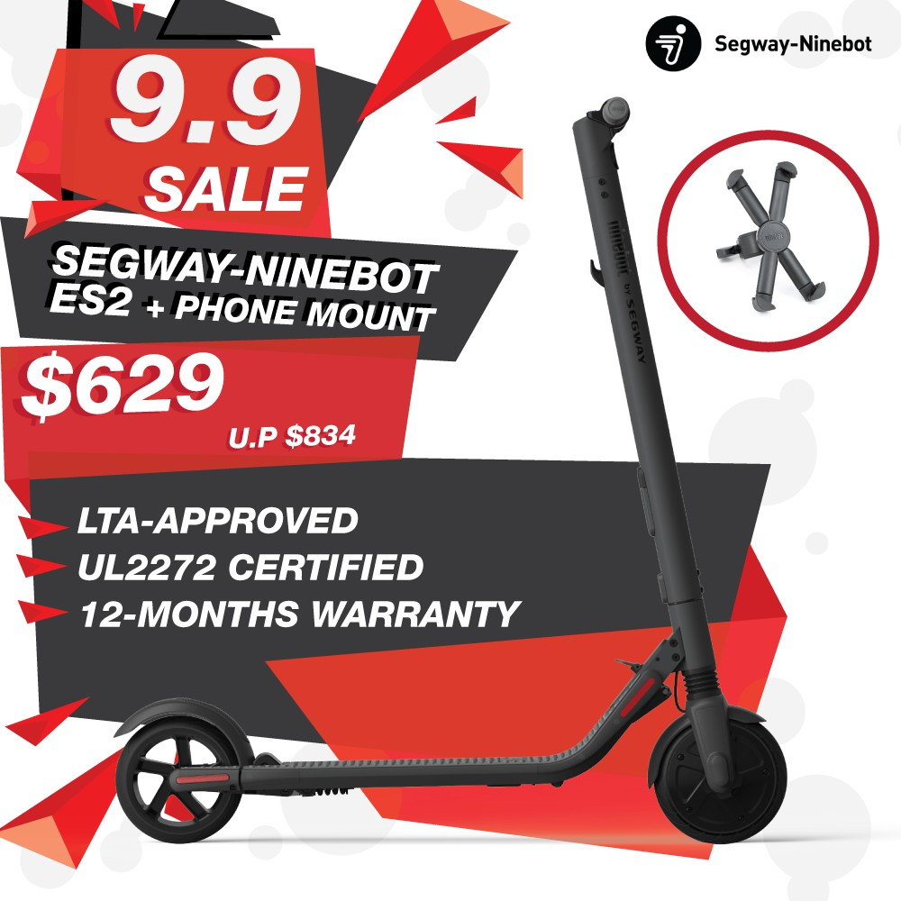 Segway ES2 **THE ONLY UL2272 Certified & LTA Approved E