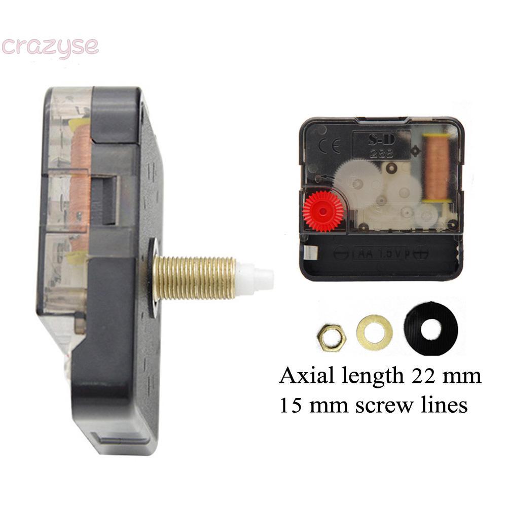 2 Quartz Clock Movement Sweep Movement Clock Plastic Replacement Repair Part