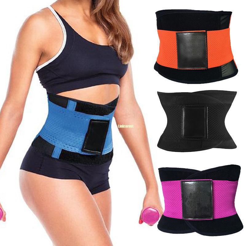 d3887625a6d Men Women Waist Cincher Girdle Belt Body Shaper Tummy Trainer Training  Corset