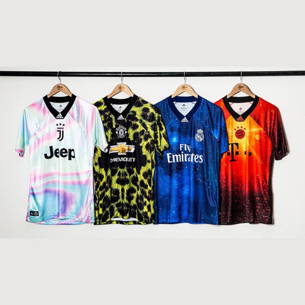 promo code a151f f436e Real Madrid EA Sports Jersey Tshit Men Football Jersey
