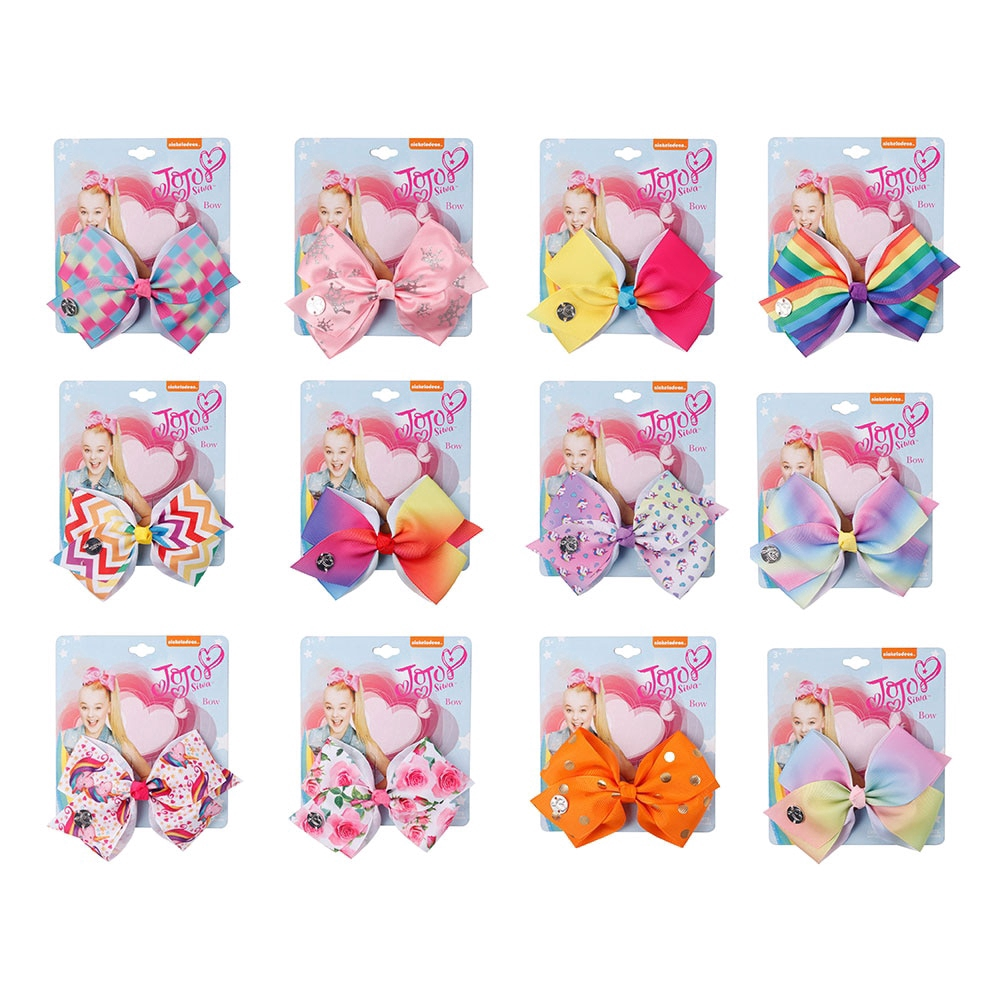 Girl Kid Unicorn Rainbow Bow Girls Hairpin JOJO Siwa Hair Bow Clip Hairgrip Gift