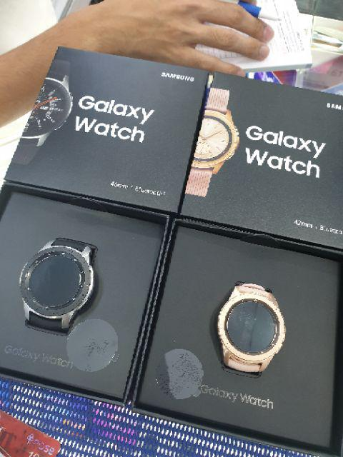 Galaxy Watch 42mm (Free Case & Tempered Glass)   1 year