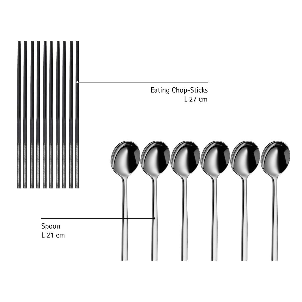 WMF Pair of Eating Chop-Sticks 1294026200   Shopee Singapore