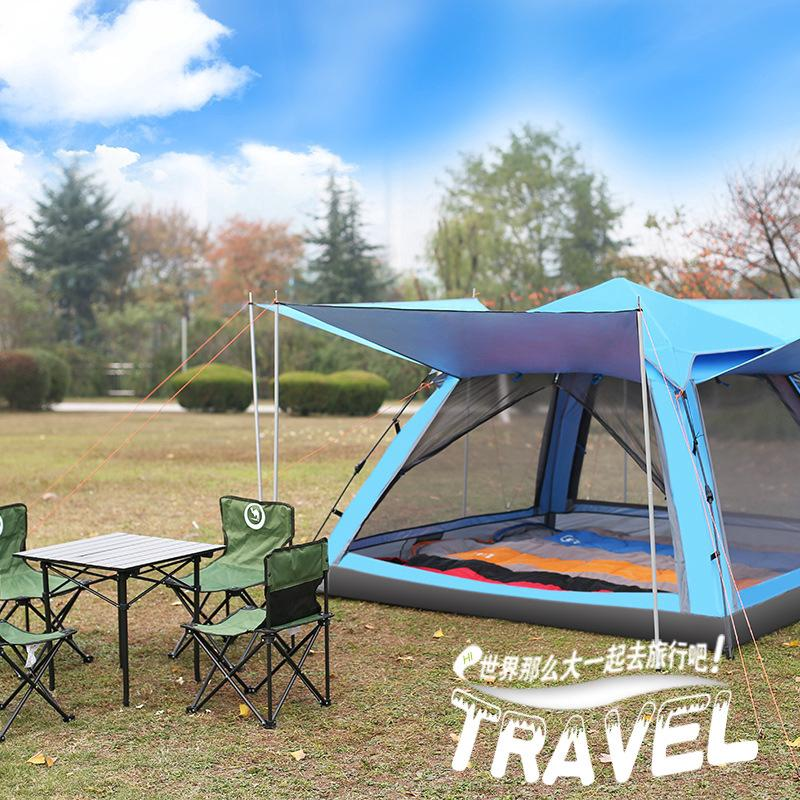 Camping Automatic Instant Popup Tent 4 8 Person
