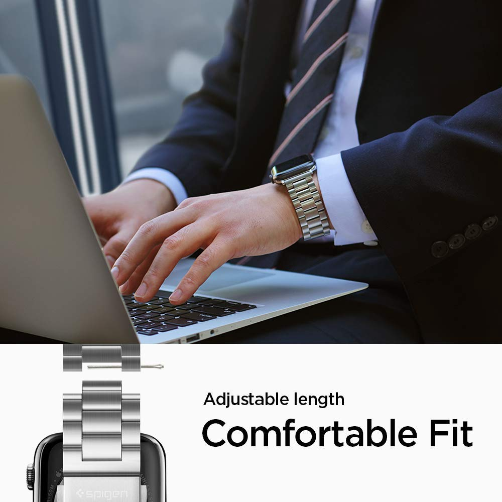 Spigen Apple Watch Series SE / 6 / 5 / 4 / 3 / 2 / 1 (44mm / 42mm) Watch Band Modern Fit | Shopee Singapore