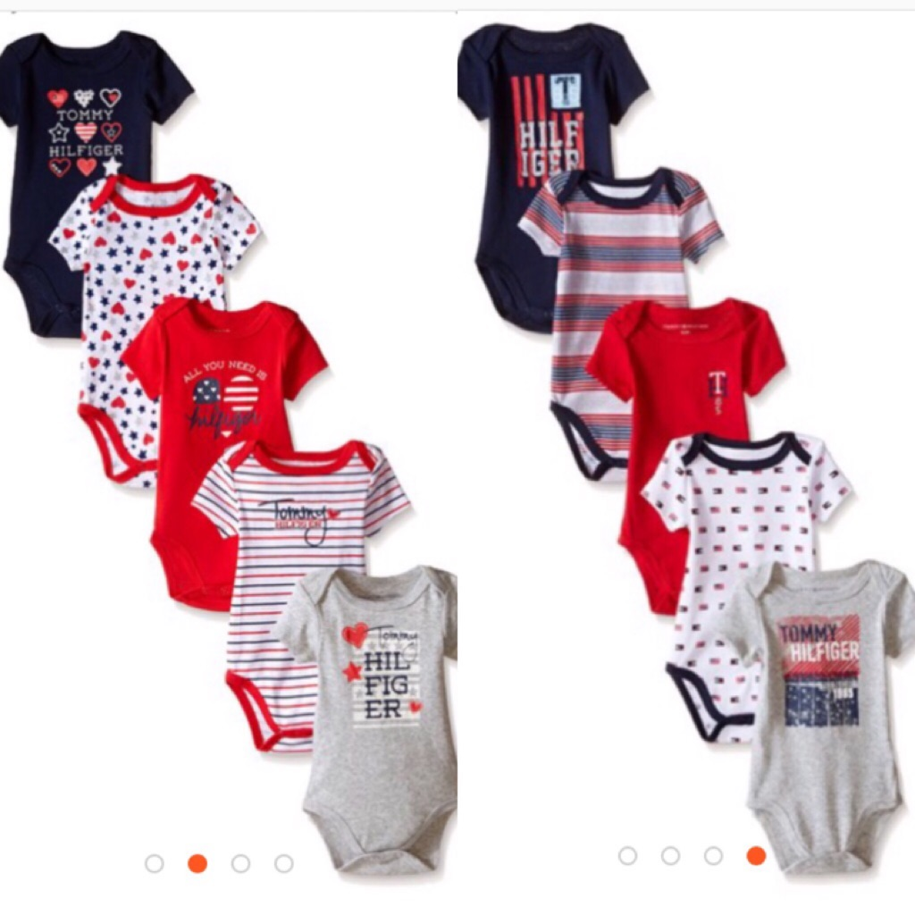 Tommy Hilfiger Baby Footies