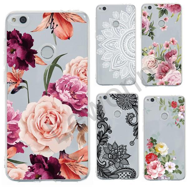 Huawei Nova 2i 3i 2 Lite Soft Case Relief Floral Cover/LK