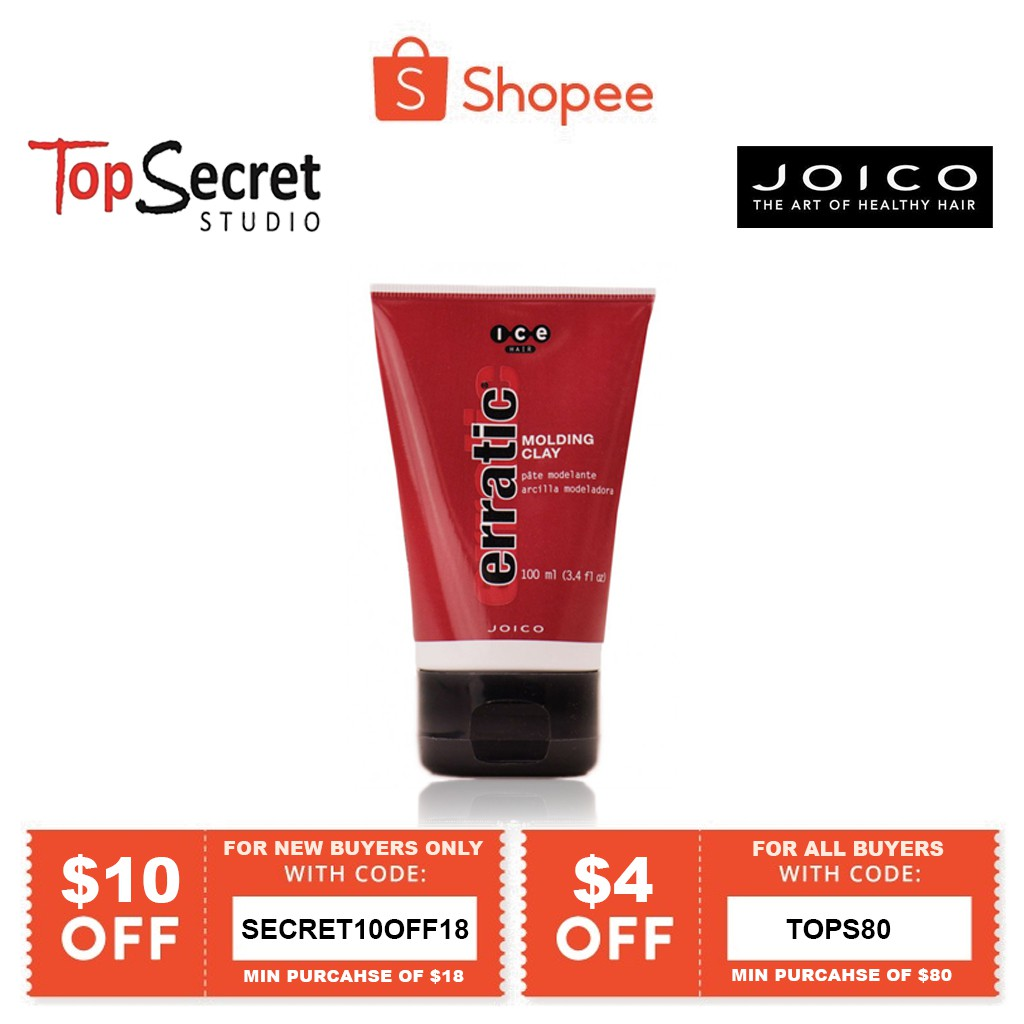 Joico Ice Erratic Molding Clay 100ml