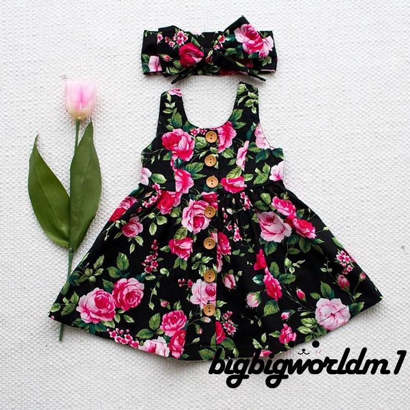 Christmas Toddler Kids Baby Girls Flower Bowknot Pageant Party Dress Sundress
