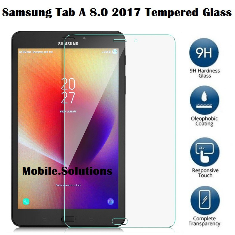 Samsung Tab A 8 0 2017 Tempered Glass Screen Protector