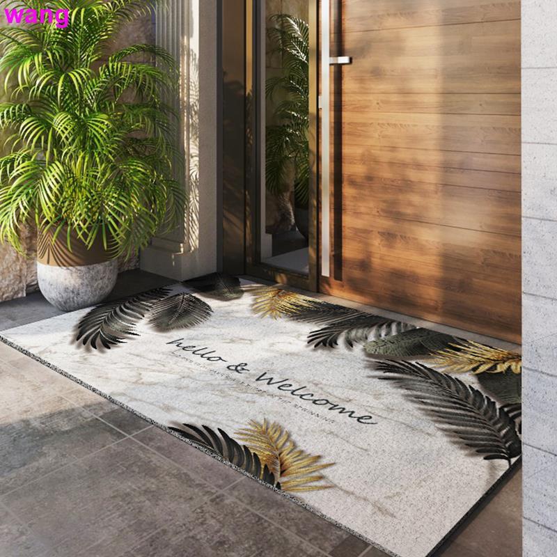E Door Silk Ring Door Entrance Carpet Home Exterior Door Mats Rub Soil Door Mats Shopee Singapore