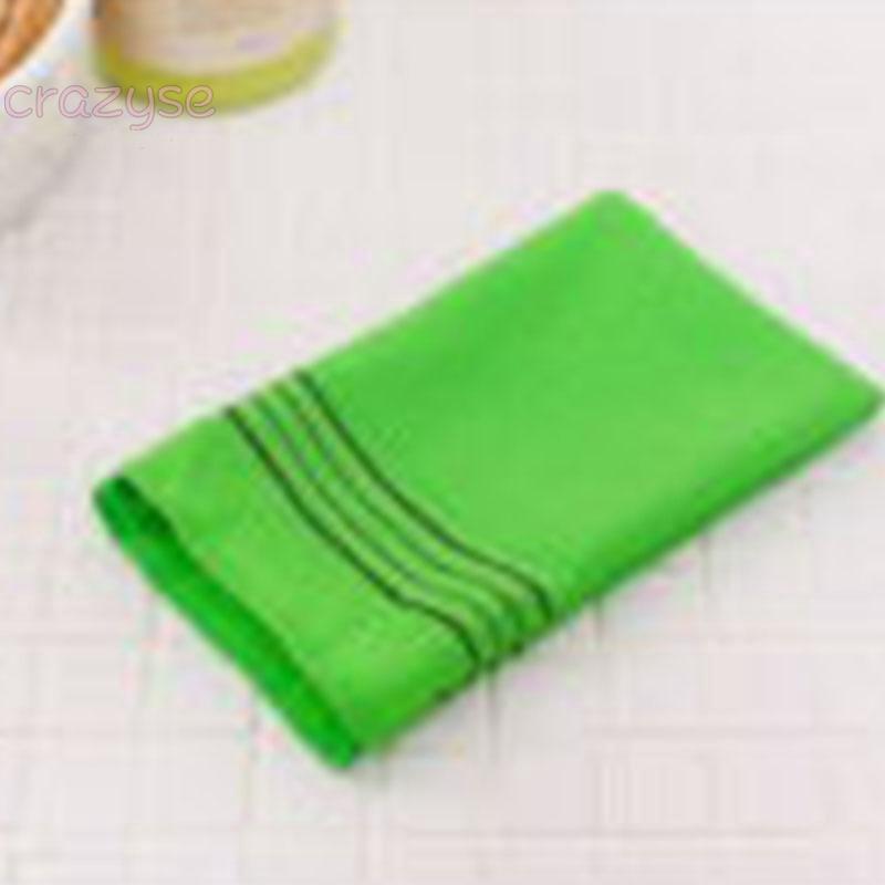 Korean Self Body Back Scrub Italy Towel Bath Cloth Massage Brush Wash Scrubber