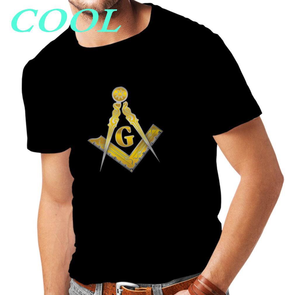 Summer Men's tshirt Freemason shirt
