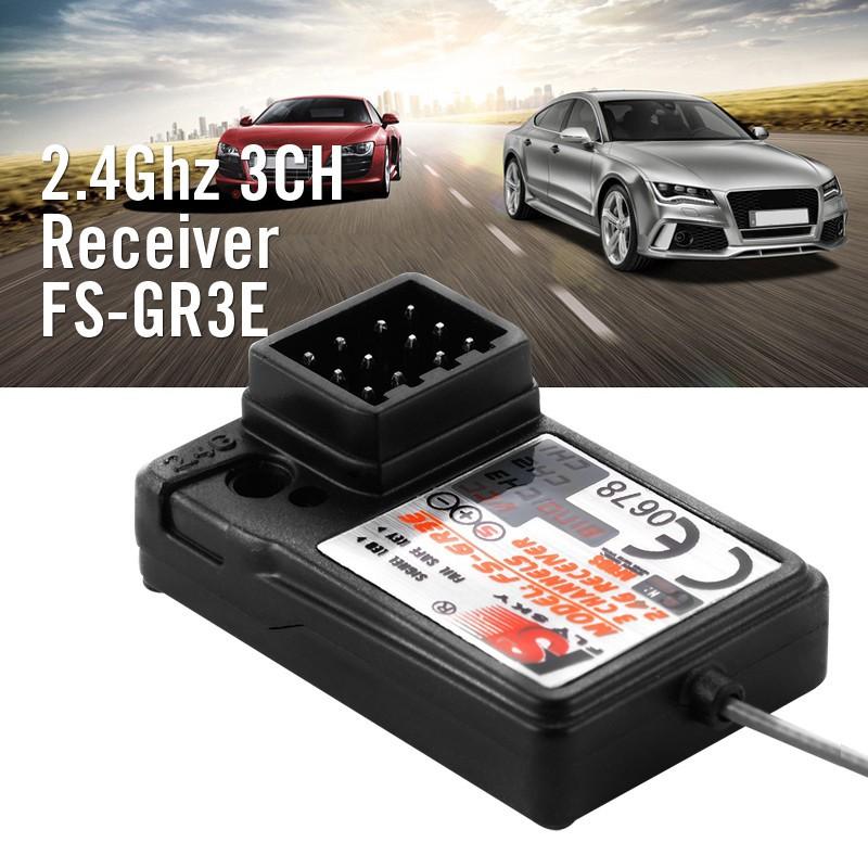 Flysky FS-GR3E AFHDS 2.4G 3CH Receiver Car For GT3B GT2