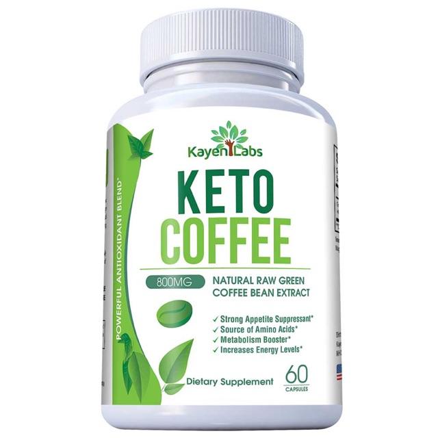 Exp 8 22 Kayen Labs Keto Coffee 60s Natural Raw Green Coffee Bean