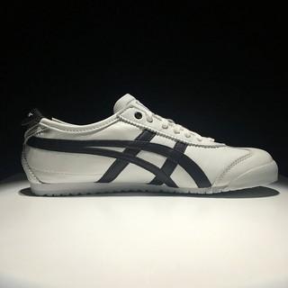 f48817d7fb28f YM original Onitsuka Tiger black white fasion shoe MEXICO 66 men womens  szie 36-44