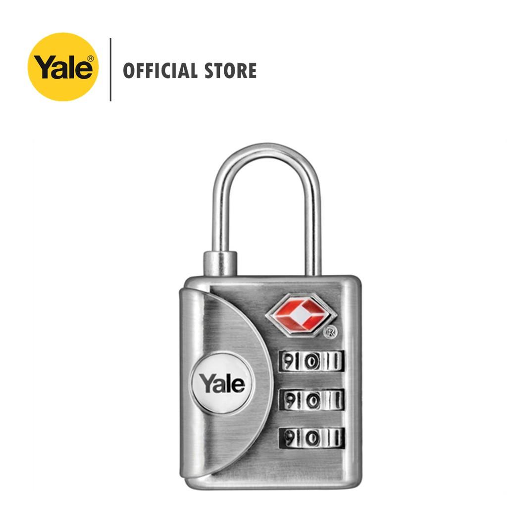 bd09233cb9af Yale YTP1/32/119/1 Luggage TSA Combination Lock (Grey)