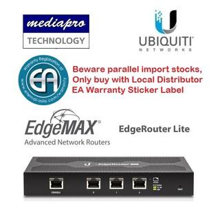 UbiQuiti ER-4 EdgeRouter 4 - 4-Port Gigabit Router with 1 SFP Port