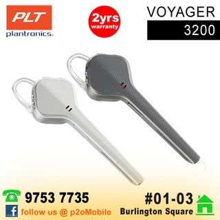 Plantronics Voyager 3240 with Charge Case Bluetooth Headset | Shopee