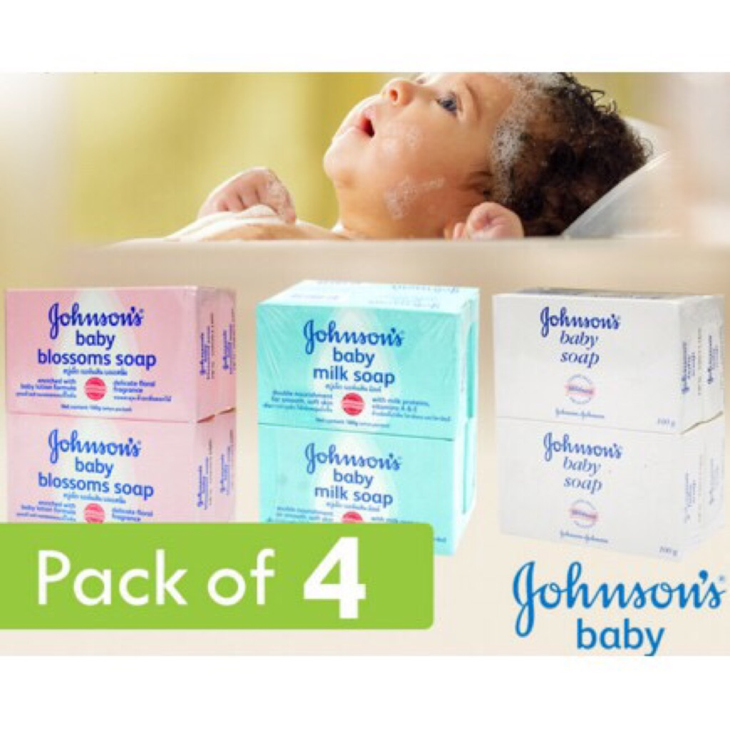 1 Johnsons Baby Soap Regular Blossoms 100gm Shopee Singapore 100gr