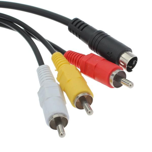 AV CABLE FOR SONY DCR-DVD506E DCR-DVD602E