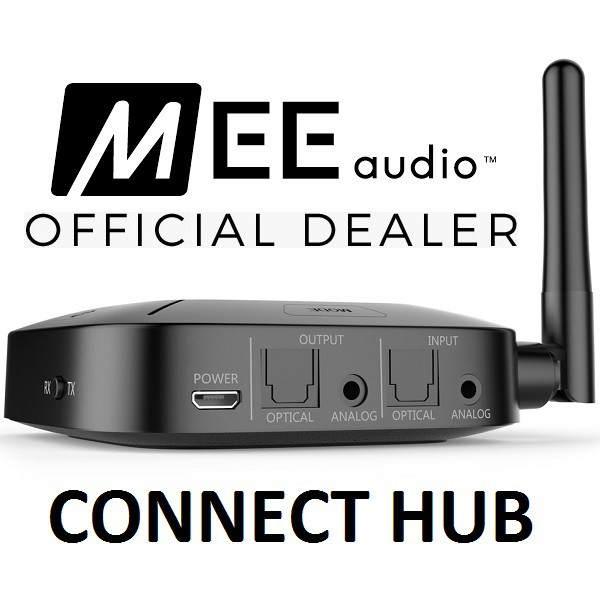MEE Audio Connect Hub Wireless Bluetooth Audio Transceiver
