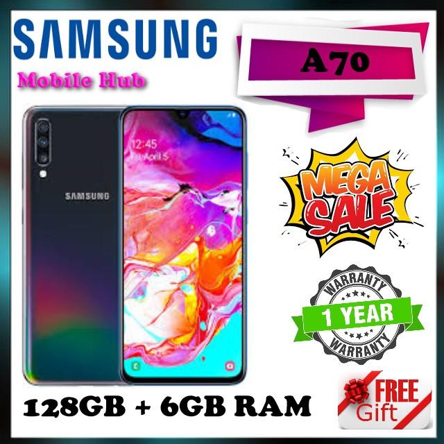 Samsung A70 128GB + 6GB Ram / 1 Year Warranty