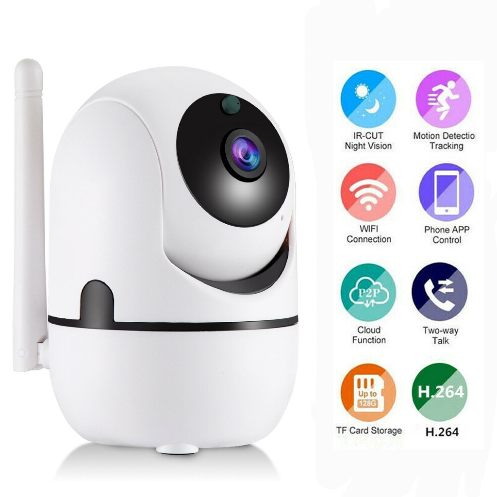 XGODY TV-288ZD 1080P Wireless WiFi HD IP Camera Motion Tracking Voice  Intercom Monitor IR-CUT