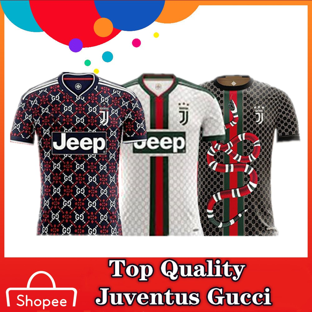 G U C C I Top Quality 19 20 Juventus Special Version Football Jersey S 4xl Shopee Singapore