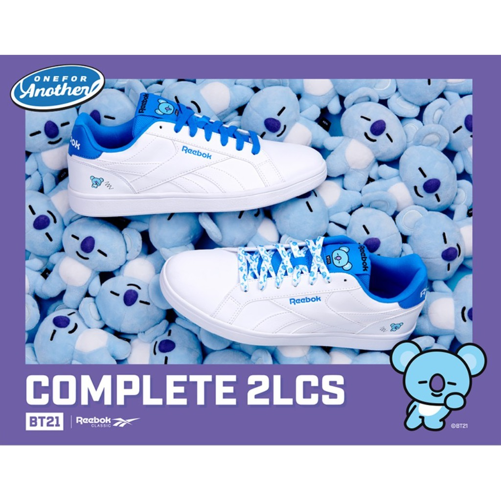 f8fc5e5e47e BTS BT21 X Reebok Royal Bridge 2.0 - KOYA