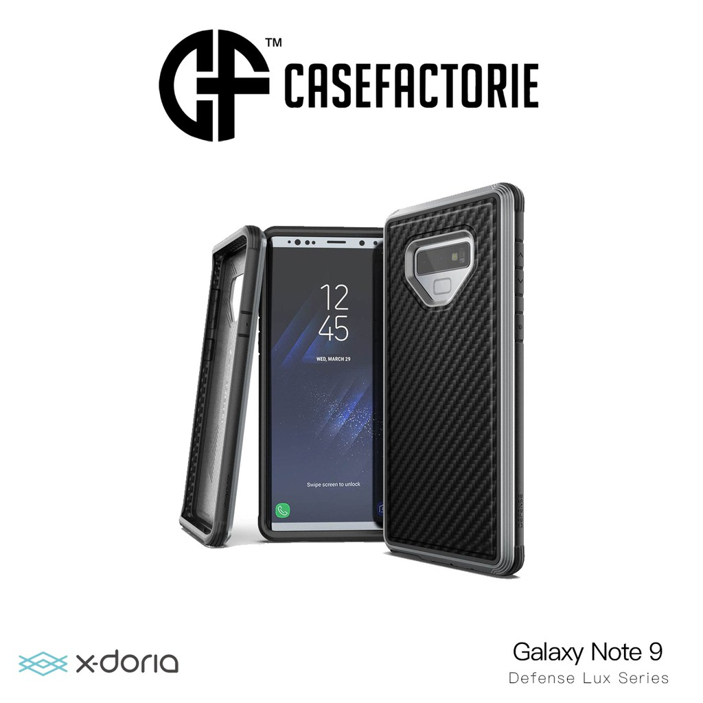X Doria Defense Lux Case For Samsung Galaxy Note 9 Shopee Singapore Goospery S9 Style Jelly Black