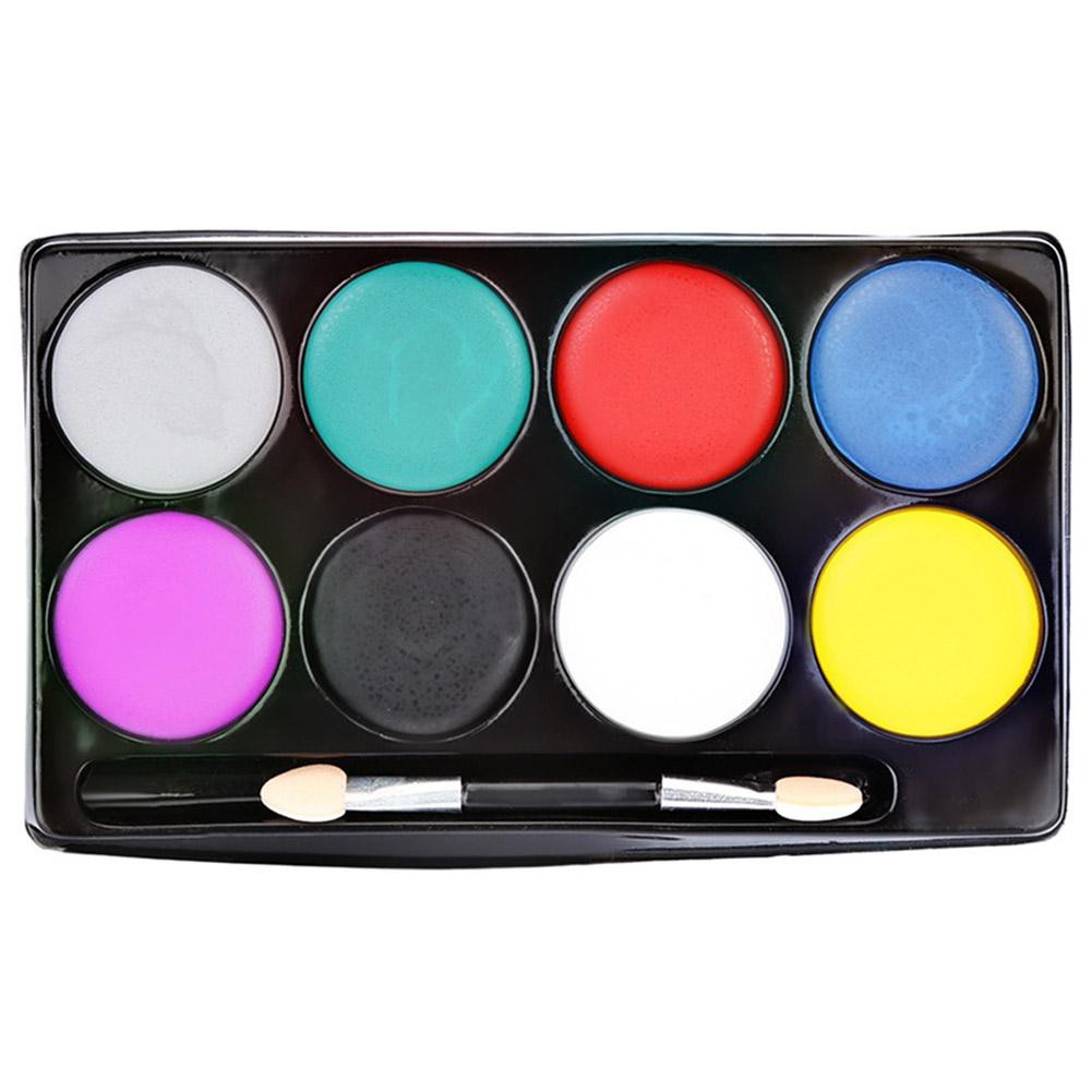 In Stock 8 Colors Waterproof Body Art Paint Cream Glow Face Body Paints For H Shopee Singapore