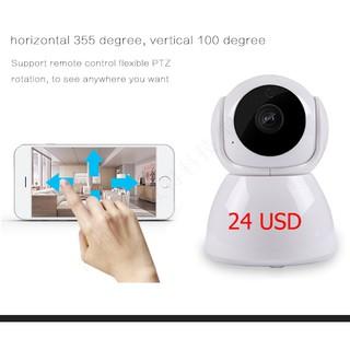 V380 baby monitor camera 1080P Home camera wifi wireless cctv camera  rotation surveillance