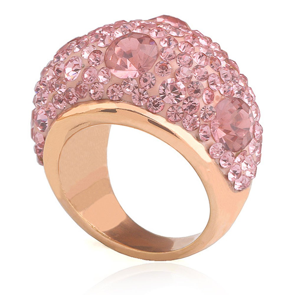 Stainless steel single row diamond ring standard US dollar ring ...