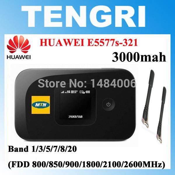 Unlocked HUAWEI E5577 E5577s-321+ 2PCS Antenna 4G LTE Cat4