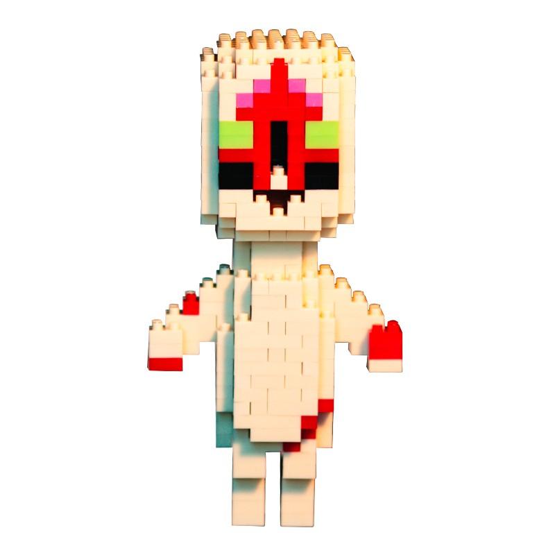 Pixel House Scp173 Base 049 Hands 096 Monster Model Kids Toys