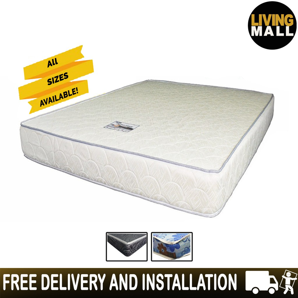 Living Mall Ortho Foam HD Foam Mattress.4/6/8 Inches. All Sizes Available.  | Shopee Singapore