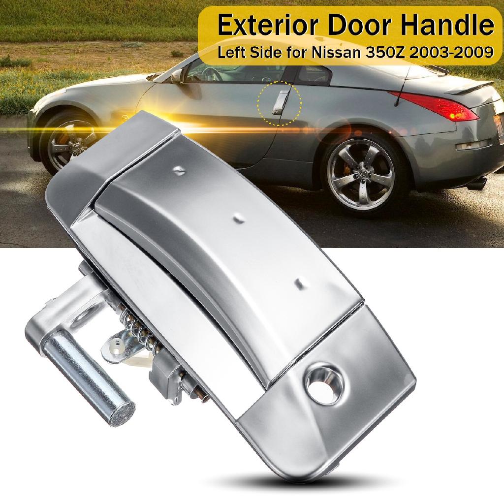 Door Handle Sport Vinyl Decal sticker fits 350Z Carbon fiber vinyl You get 3