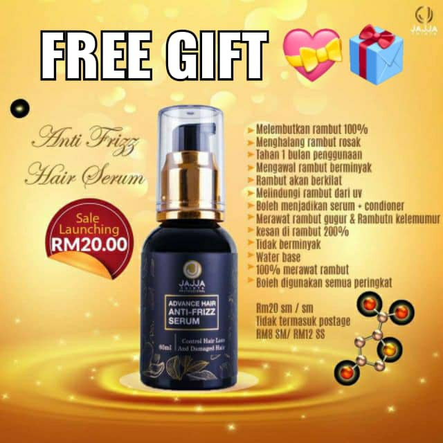 Hair Serum Treatment By Jajja Jajja Hair Serum Hair Serum Hair Serum Hair Tonic Straight Hair Syampu Shopee Singapore