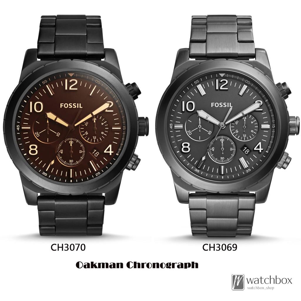 Fossil Neutra Chronograph Gold Tone Stainless Steel Watch Fs5409 Jam Tangan Fs5384 Original Shopee Singapore