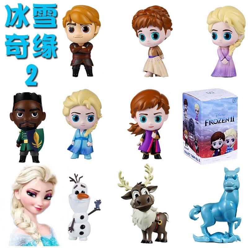 1p Movie Frozen Princess Figures Kids Children Baby Girl Playset Doll Toy Random