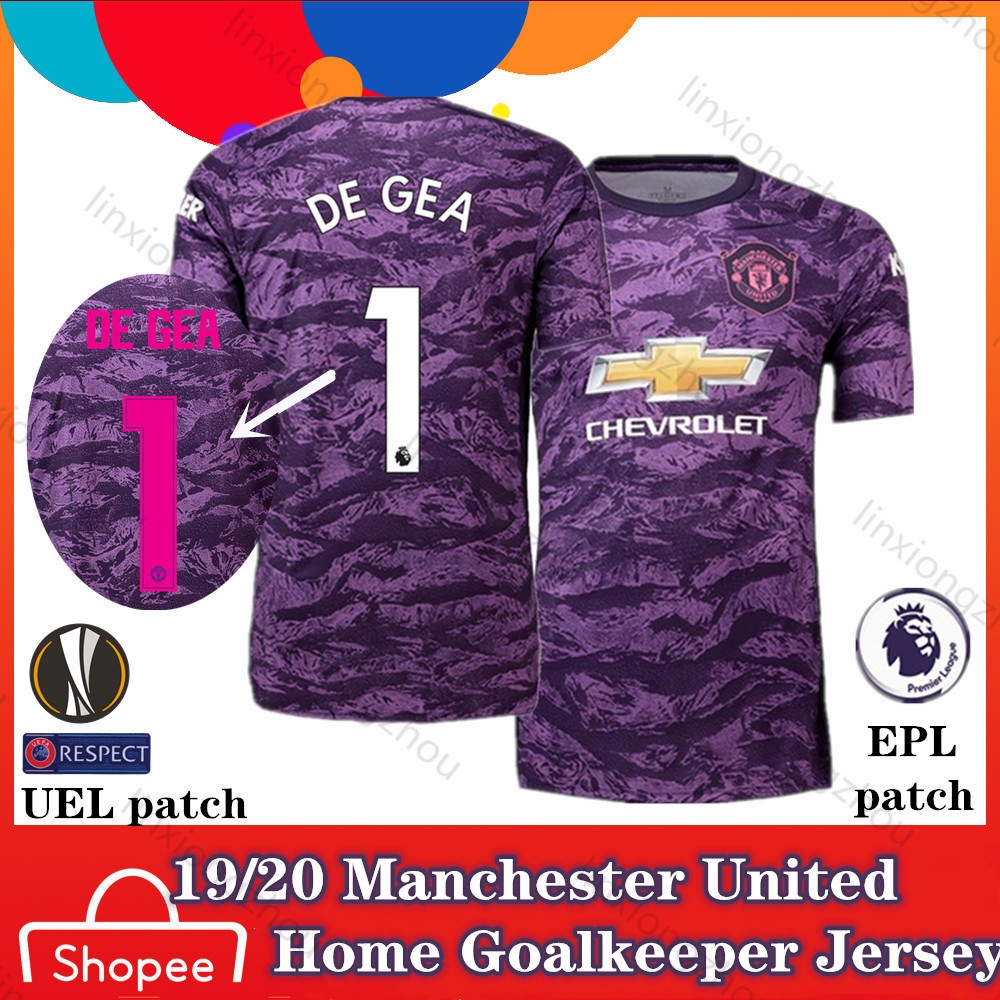 detailed look 685d6 43f9a 19/20 Top Qualtiy Manchester United Home goalkeeper jersey Football Jersey  Soccer Jersey