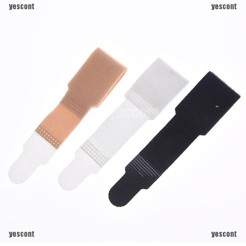 1Pc blue rubber gel toe straightener separator bunion