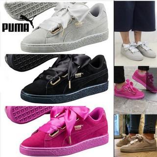 buy popular 7f945 c7585 Puma candy color shoes Puma Suede Basket Heart Rihanna ...