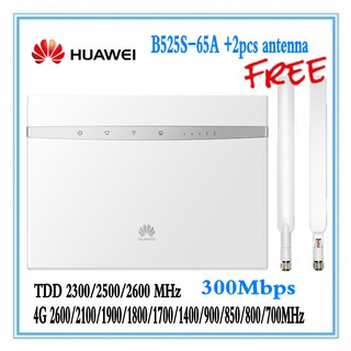 Unlocked Huawei B525 B525S-65a 4G LTE CPE router with SIM
