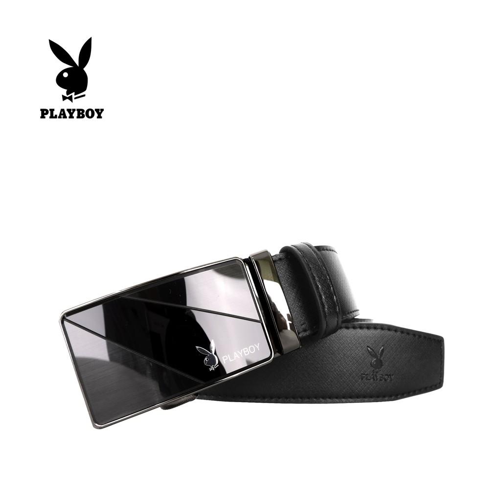 Men Genuine Leather Automatic Ratchet Click Lock Buckle Belt Designer Style:307