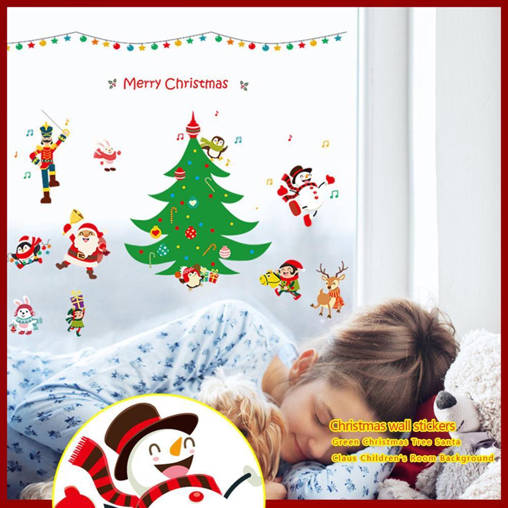 Merry Christmas Santa Claus Climb The Ladder Ornament Christmas Tree