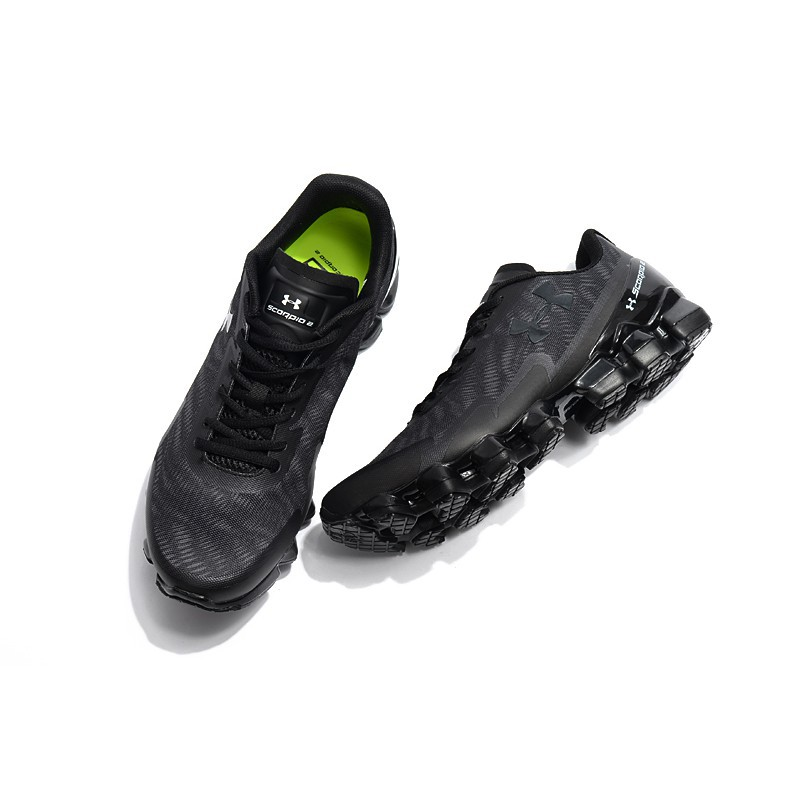 save off 751f0 f5927 new under armour scorpio 2 black out mens outdoor sport shoes breathable  40-45