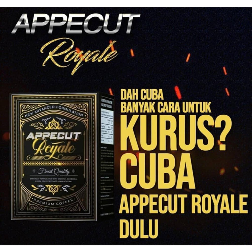 APPECUT ROYALE (READY STOCK WITH FREE GIFT)** | Shopee Singapore